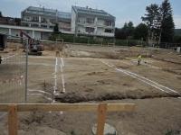 Luxusní byty Horská - Liberec (stavební jáma)